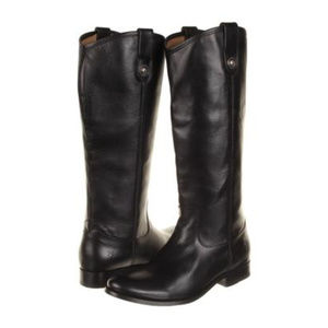 Frye Melissa Button Soft Vintage tall riding boots